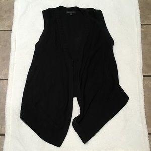Black Banana Republic Cardigan Vest